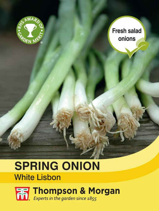 Thompson & Morgan (Uk) Ltd Gardening Spring Onion White Lisbon