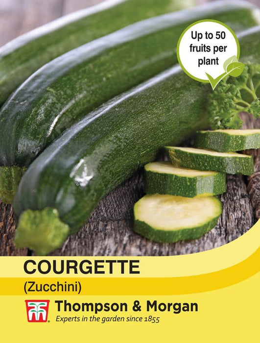 Thompson & Morgan (Uk) Ltd Gardening Courgette (Zucchini)