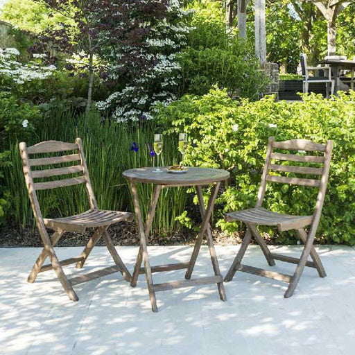 Mid Ulster Garden Centre (Hortus Vitae Ltd) Garden Furniture Alexander Rose Sherwood Tea For Two Bistro Outdoor Dining Set