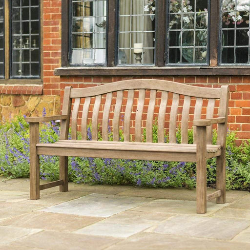 Alexander Rose Garden Furniture Alexander Rose Sherwood Turnberry Wooden Patio Bench 4ft