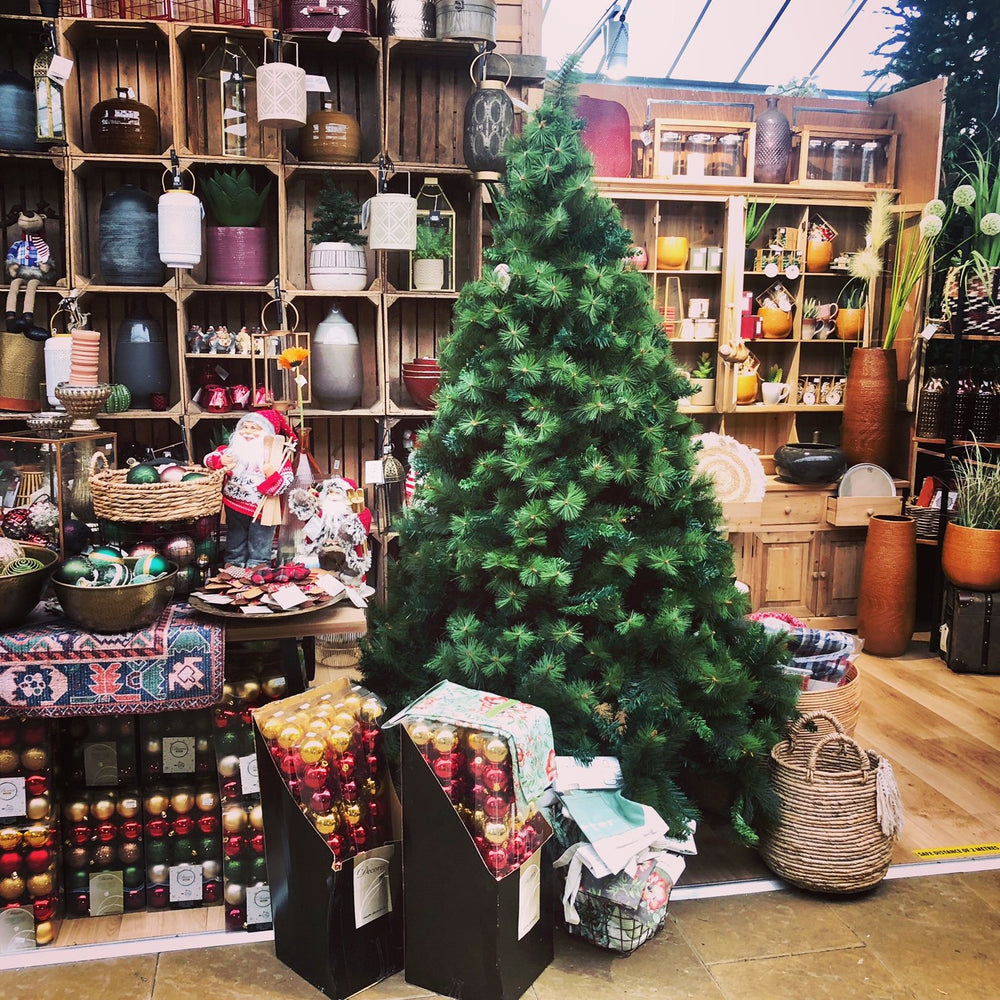 Mid Ulster Garden Centre Artificial Christmas Trees Amsterdam Pine Christmas Tree 7ft (210cm)