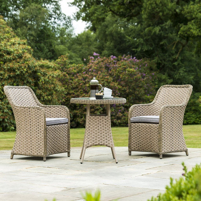 38053e0574e12 Alexander Rose Bespoke Grand Bistro 2 Seat Outdoor Dining Set in Fawn — Mid  Ulster Garden Centre (Hortus Vitae Ltd)