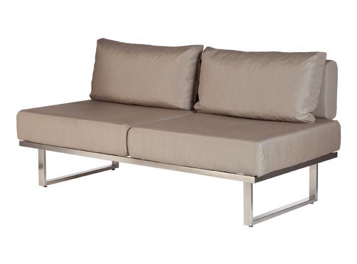 Barlow Tyrie Mercury Deep Seating Garden Lounge Set in SJA-3729 Taupe Fabric - Double Module - Mid Ulster Garden Centre, Ireland