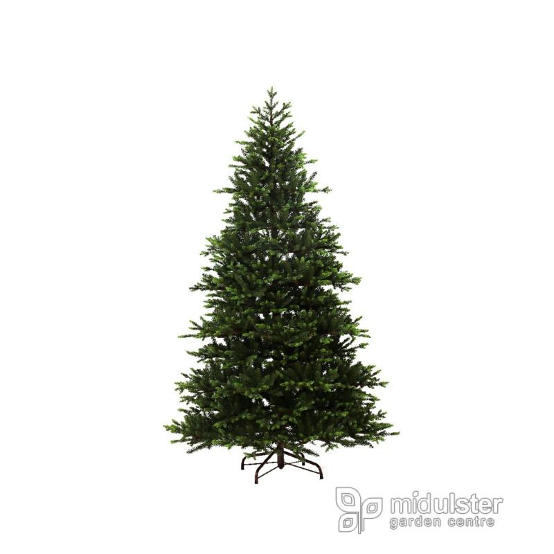 Kaemingk Everlands Kingswood Fir Christmas Tree 300cm / 10ft - Mid Ulster Garden Centre, Ireland