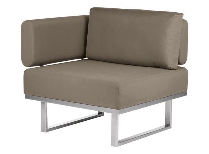 Barlow Tyrie Mercury Deep Seating Garden Lounge Set in SJA-3729 Taupe Fabric - Left Module - Mid Ulster Garden Centre, Ireland
