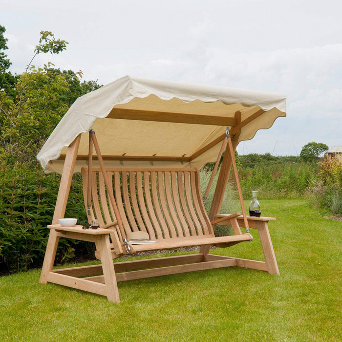 Alexander Rose Garden Furniture Accessories Ecru Alexander Rose Swing Seat Canopy - 560