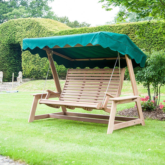 Alexander Rose Garden Furniture Accessories Forest Green Alexander Rose Swing Seat Canopy - 560