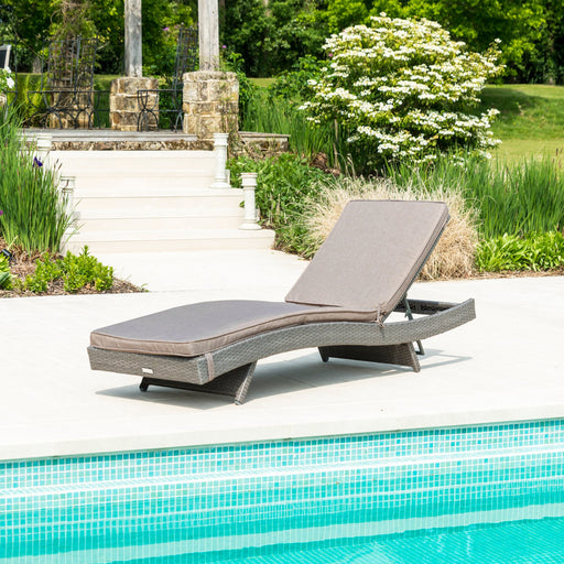 Alexander Rose Garden Furniture Alexander Rose Bespoke Adjustable Sunbed With Cushion