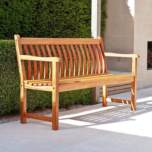 Alexander Rose Garden Furniture Alexander Rose Cornis Broadfield Bench 4ft / 120cm