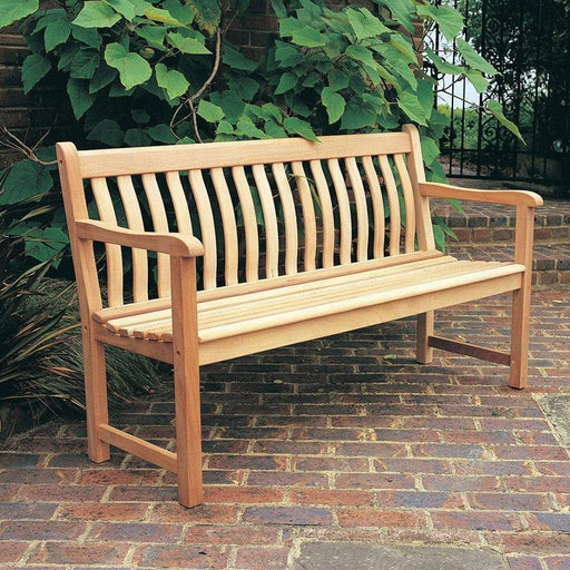 Alexander Rose Garden Furniture Alexander Rose Mahogany Broadfield Garden Bench 5ft / 150cm