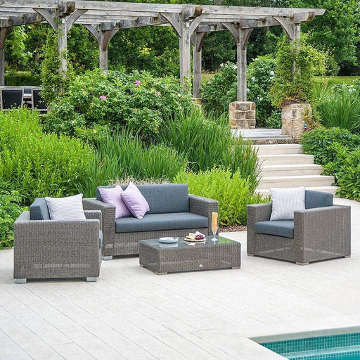 Alexander Rose Garden Furniture Alexander Rose Monte Carlo 4 Seat Lounge Set