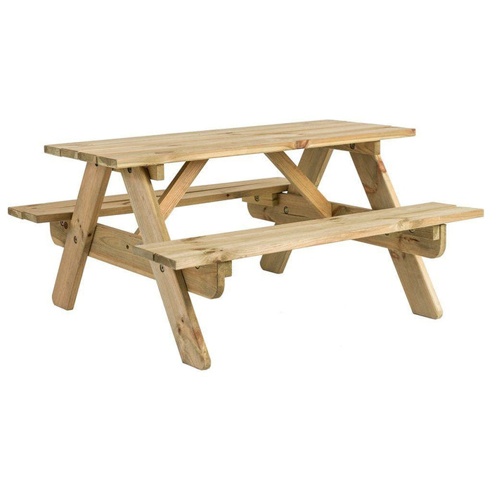 Alexander Rose Pine Kids Picnic Bench And Table 2ft Cutout - Mid Ulster Garden Centre, Ireland