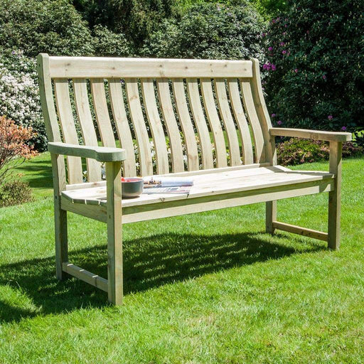 Alexander Rose Garden Furniture Alexander Rose Pine Farmers Bench 5ft / 150cm