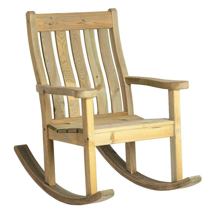 Alexander Rose Garden Furniture Alexander Rose Pine Farmers Wooden Garden Rocking Chair