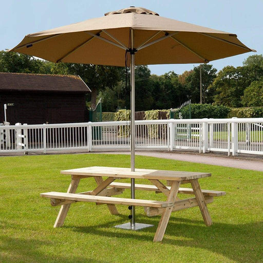Alexander Rose Garden Furniture Alexander Rose Pine Heavy Duty Garden Picnic Table 6ft
