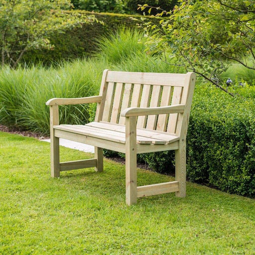 Alexander Rose Garden Furniture Alexander Rose Pine Marlow 4ft Garden Bench