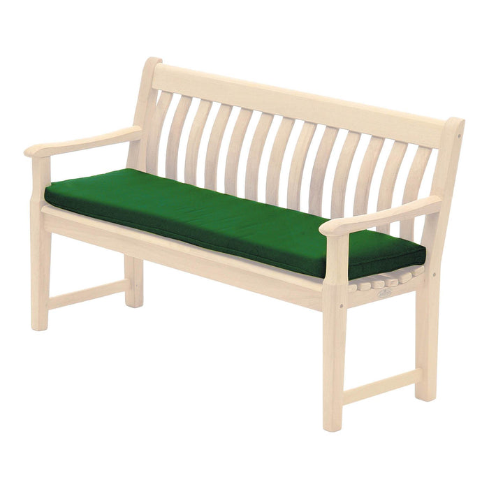 Alexander Rose Garden Furniture Accessories Forest Green Alexander Rose Polyester 4ft Bench Cushion - 578