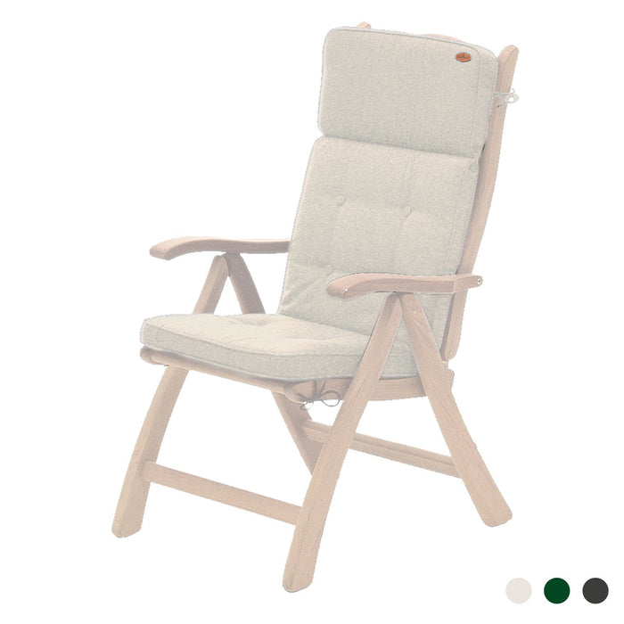 Alexander Rose Garden Furniture Accessories Oatmeal Alexander Rose Premium Olefin Recliner Cushion - 562