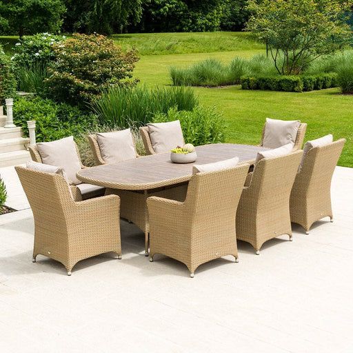 Alexander Rose Richmond 8 Seat Rattan Dining Set