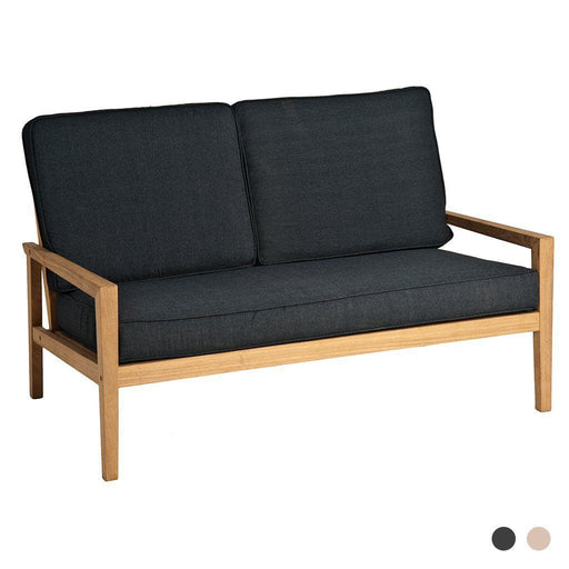 Alexander Rose Garden Furniture Alexander Rose Roble Lounge 2 Seater Sofa with Charcoal Cushions