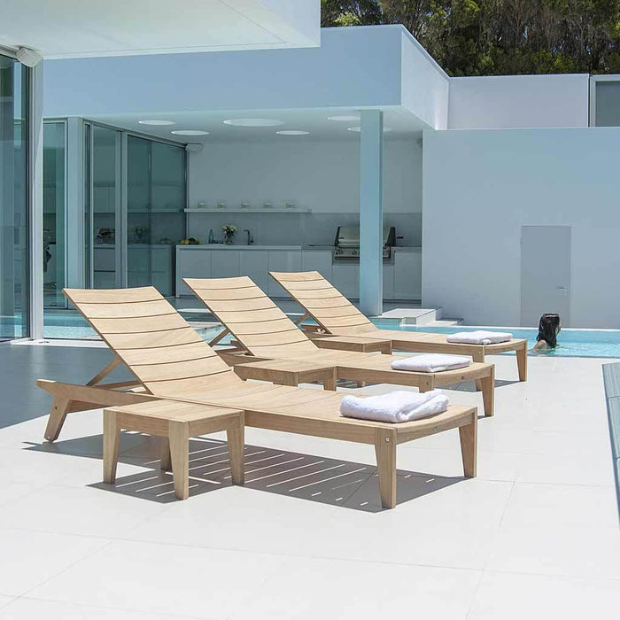 Alexander Rose Garden Furniture Alexander Rose Roble Adjustable Sunbed