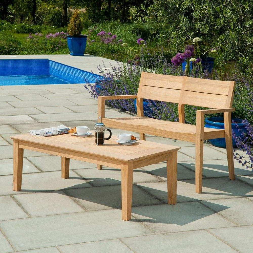 Alexander Rose Roble 4ft Garden Bench and Table Set