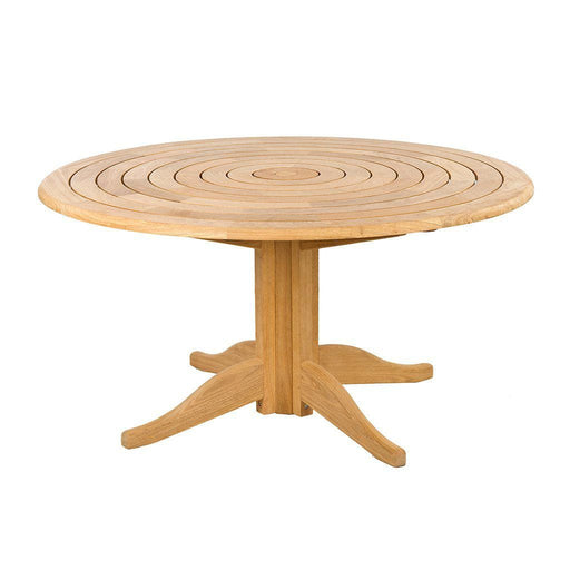 Alexander Rose Roble Bengal Round Wooden Garden Table 1.45M - Mid Ulster Garden Centre, Ireland