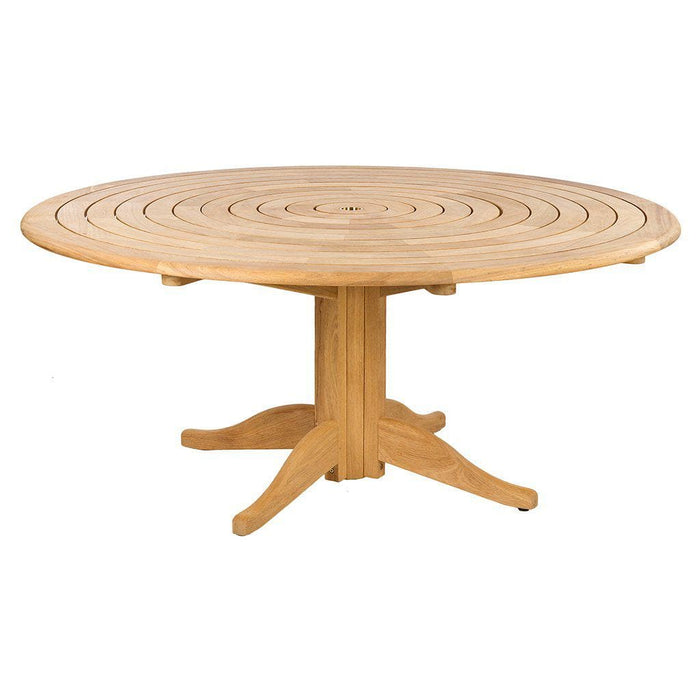 Alexander Rose Roble Bengal Round 8 Seater Set - Pedestal Table - Mid Ulster Garden Centre, Ireland