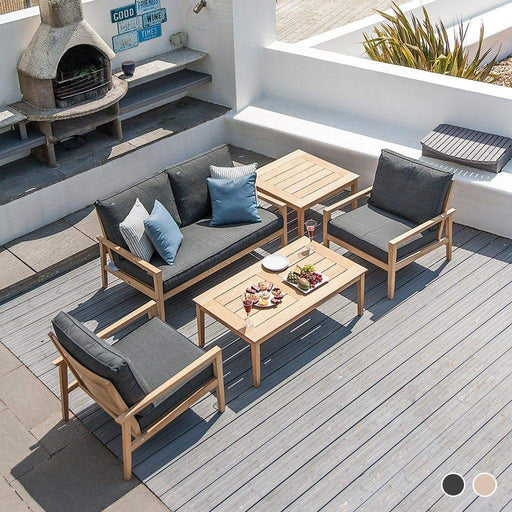 Alexander Rose Roble Coffee Table Set With Lounge Sofas - Mid Ulster Garden Centre, Ireland
