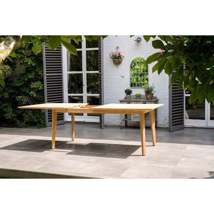 Alexander Rose Roble Extending Table 172 - Opening - Mid Ulster Garden Centre, Ireland