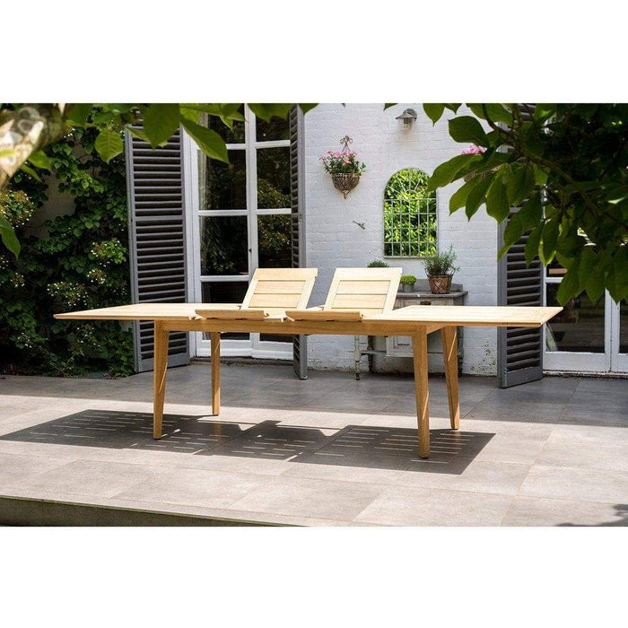 Alexander Rose Roble Extending Table 172 - Folding Extenders - Mid Ulster Garden Centre, Ireland