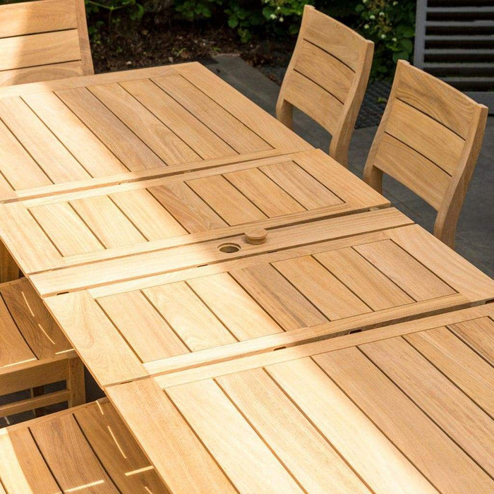 Alexander Rose Roble Extending Large Garden Table Opening 3 -Mid Ulster Garden Centre, Ireland