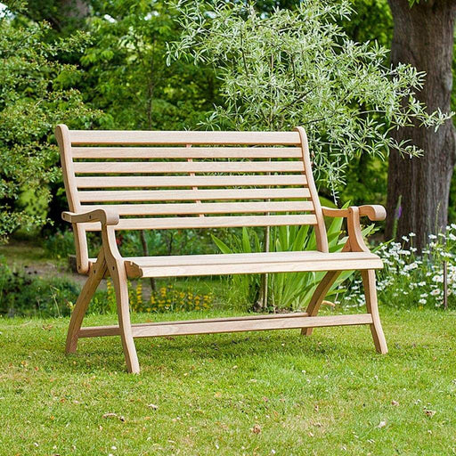 Alexander Rose Roble Folding Garden Bench 4ft / 134cm - Mid Ulster Garden Centre, Ireland