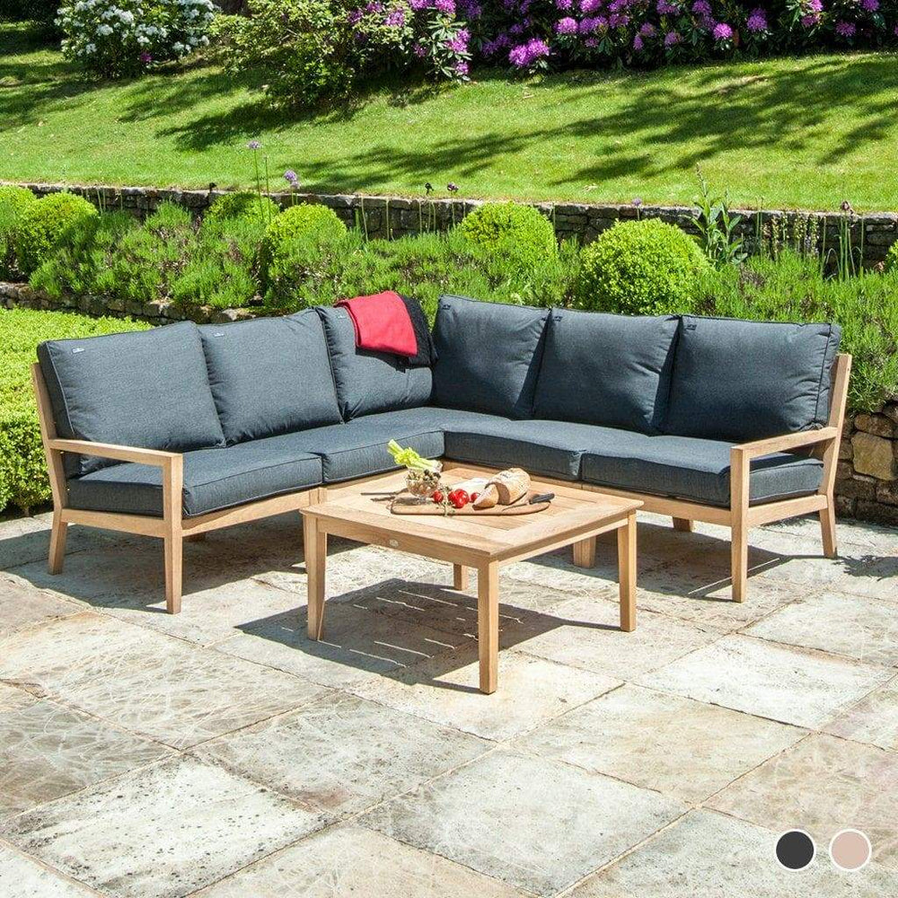 Alexander Rose Garden Furniture Charcoal Alexander Rose Roble Garden Lounge Corner Set