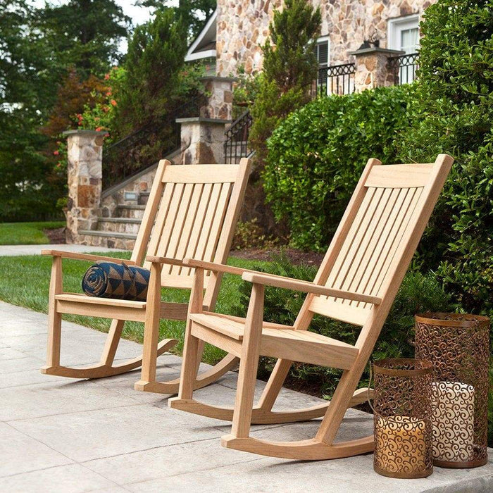 Remarkable Alexander Rose Roble Garden Rocking Chair Squirreltailoven Fun Painted Chair Ideas Images Squirreltailovenorg