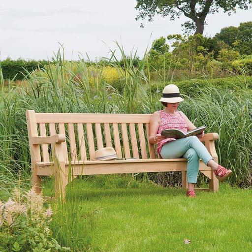Alexander Rose Roble Park Bench 6ft / 180cm - Mid Ulster Garden Centre, Ireland
