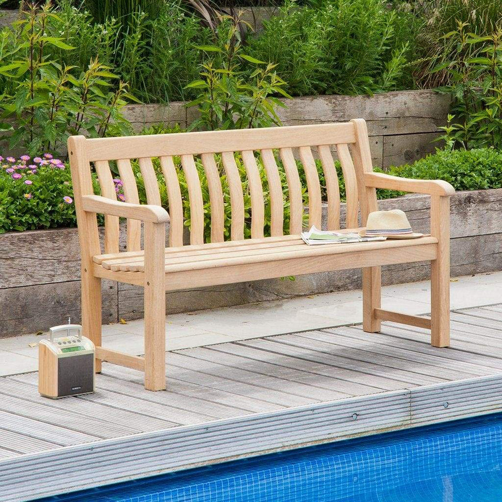 Alexander Rose Roble St George Bench 5ft / 150cm - Mid Ulster Garden Centre, Ireland