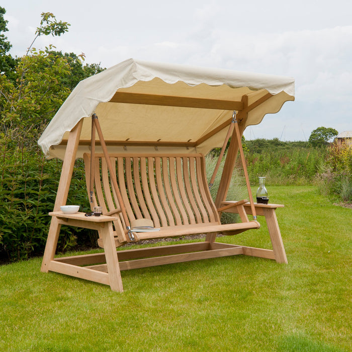 Alexander Rose Garden Furniture Alexander Rose Roble Swing Seat with Canopy