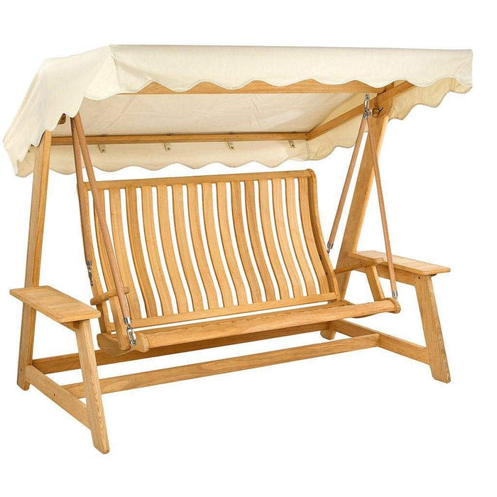Alexander Rose Roble Swing Seat with Canopy