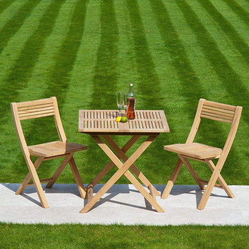 Alexander Rose Garden Furniture Alexander Rose Roble Folding Tea For Two Set