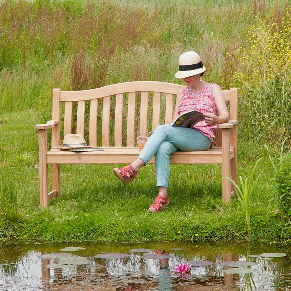 Alexander Rose Roble Turnberry Bench 5ft / 150cm - Mid Ulster Garden Centre, Ireland