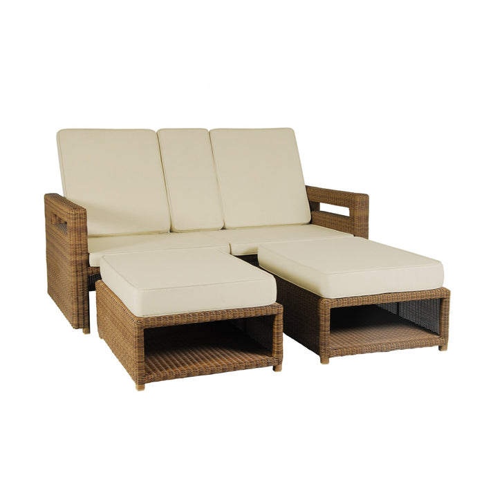 Alexander Rose Garden Furniture Alexander Rose San Marino Lovers Recliner Seat