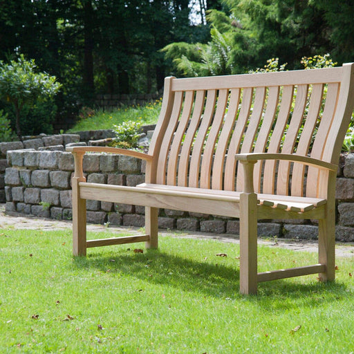 Alexander Rose Garden Furniture Alexander Rose Roble Santa Cruz High Back Garden Bench 5ft