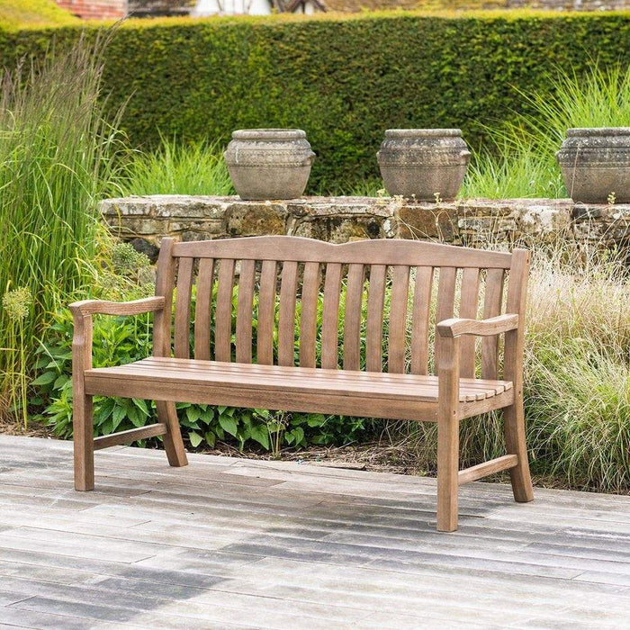 Alexander Rose Garden Furniture Alexander Rose Sherwood Cuckfield 3 Seater Garden Bench 5ft