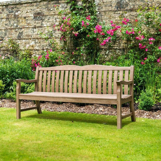 Alexander Rose Garden Furniture Alexander Rose Sherwood Cuckfield Modern Garden Bench 6ft