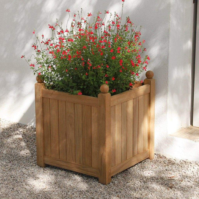 Barlow Tyrie Caisse Versailles Square Planter Boxes 61cm - Mid Ulster Garden Centre, Ireland
