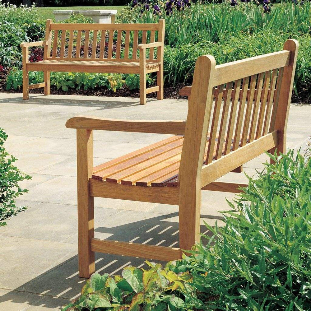 Barlow Tyrie Garden Furniture Barlow Tyrie Felsted Garden Bench 147cm / 5ft