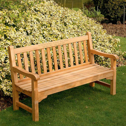 Barlow Tyrie Garden Furniture Barlow Tyrie Glenham Teak Garden Seating Bench 149cm / 5ft