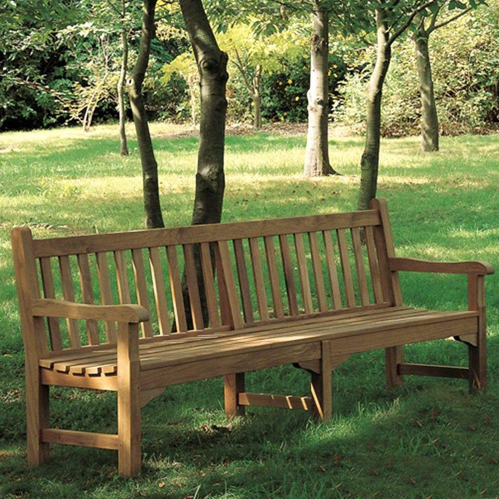 Barlow Tyrie Garden Furniture 236cm Barlow Tyrie Glenham Teak Outdoor Bench 236cm / 8ft
