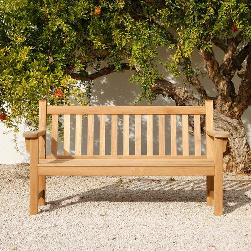 Barlow Tyrie London Garden Bench 161cm / 5ft - Mid Ulster Garden Centre, Ireland